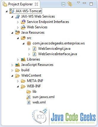JAX-WS Web Services On Tomcat Examples Java Code Geeks - 2018