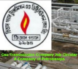 gas transmission company ltd job
