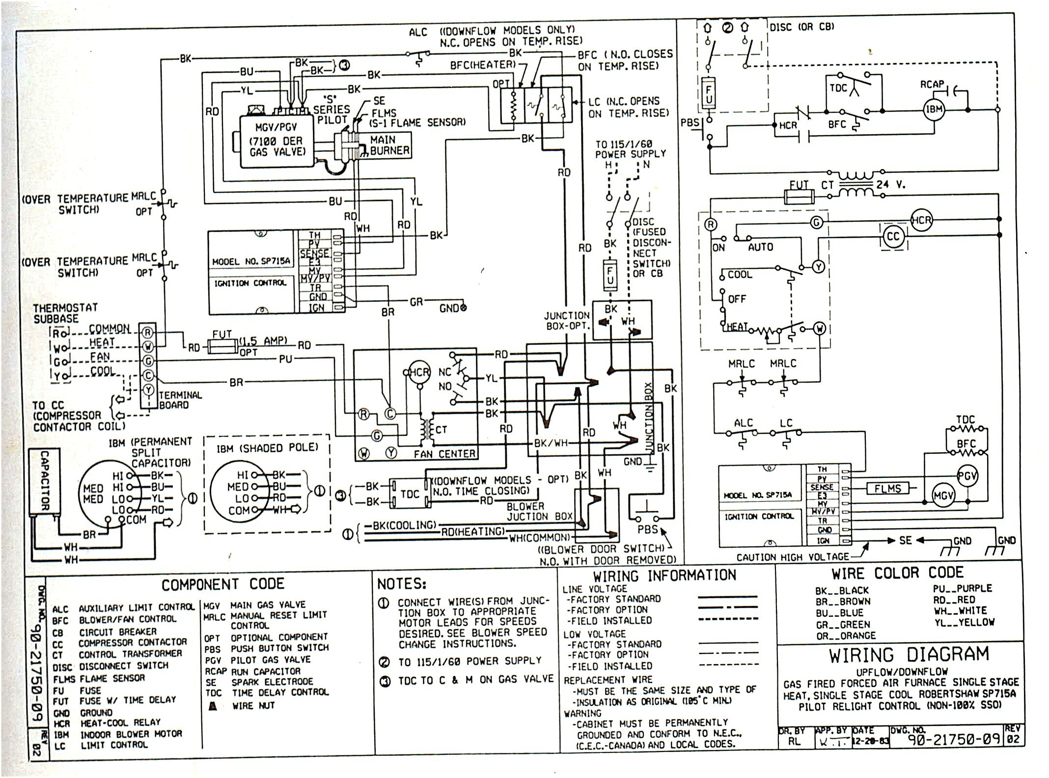 honeywell basic thermostat wiring diagram