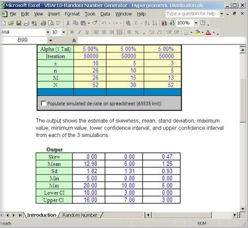 A Finance and Statistics Excel VBA Website