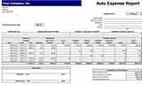 Download Auto Expense Report Related Excel Templates for ...