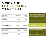 Download Mortgage Related Excel Templates for Microsoft Excel 2007 2010 2013 or 2016