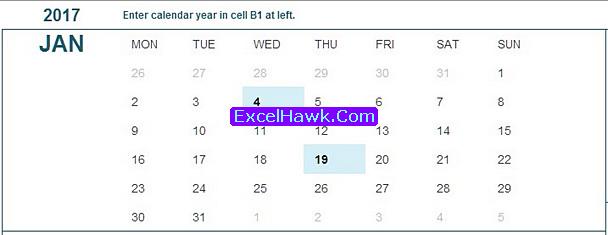 Free Printable Student Calendar Planner Template in Excel Tutorial
