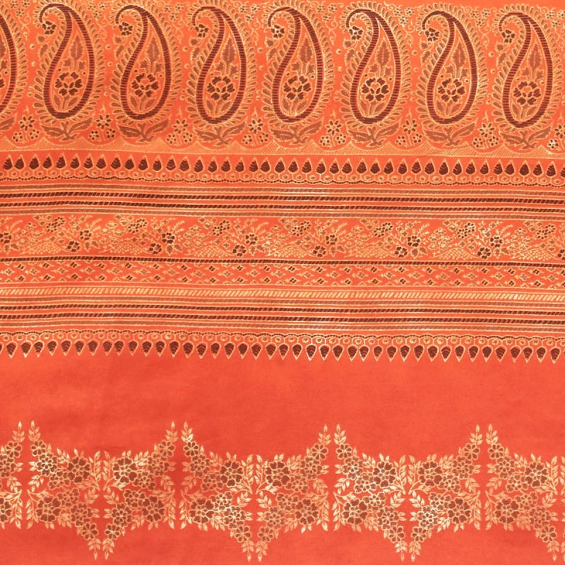 Bassetti Bettwäsche 135x200 Bassetti Bettwäsche Mako-satin Brunelleschi Grau Orange