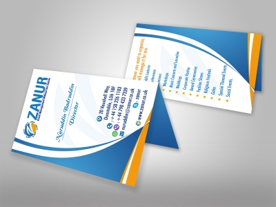 Business Cards Printing and Design at Excellent Printing - portrait business card