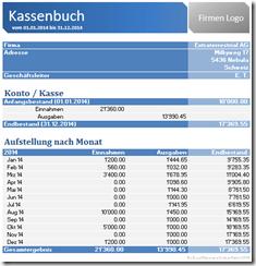 Excel Kassenbuch zum Download