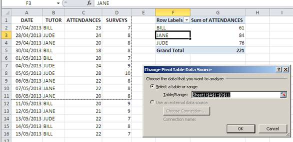 How to Create a Pivot Table with Expanding Data Ranges - - pivot table in excel