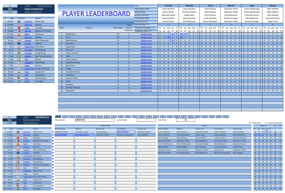 Sports Archives Page 3 of 4 Excel Templates - football pool template