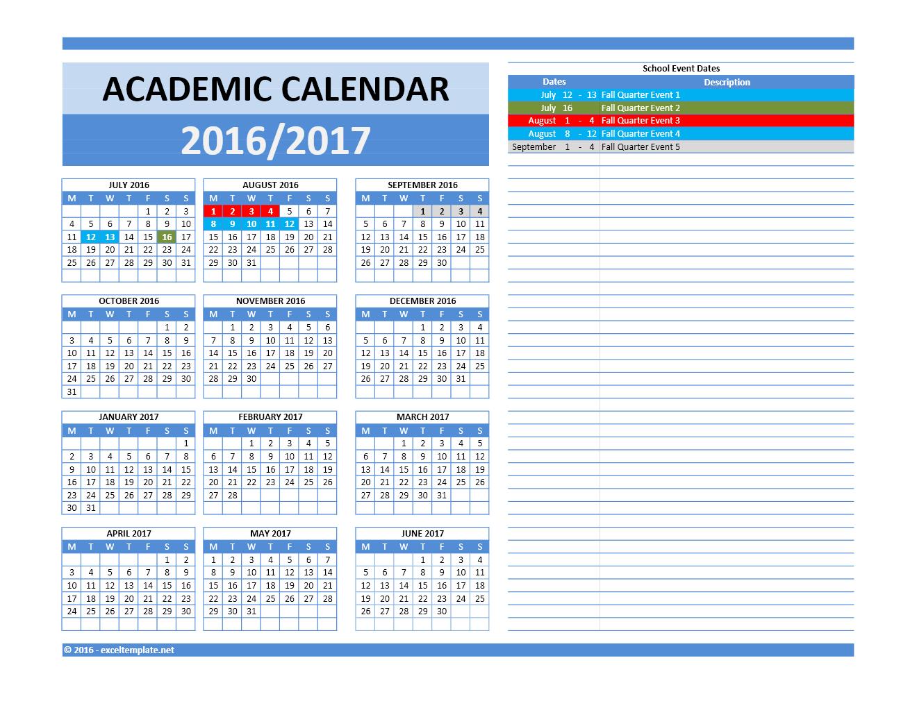 Blank September Calendar Elementary – hoguma