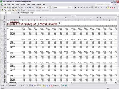 Business Budget Template Excel - Vosvete.Net