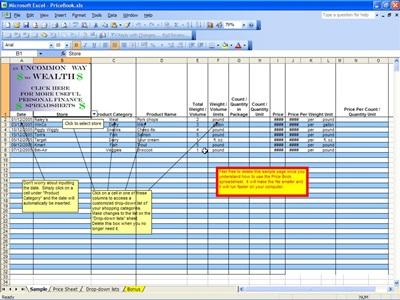 price book templates - Goalgoodwinmetals - grocery price book template excel