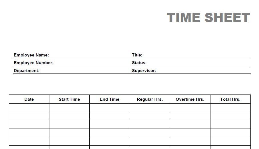 weekly time sheet free radiotodorock - time spreadsheets