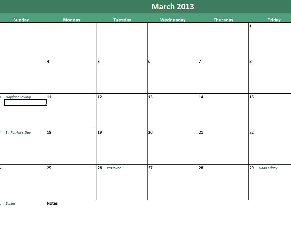 Daily Calendar Template Daily Calendar Templates