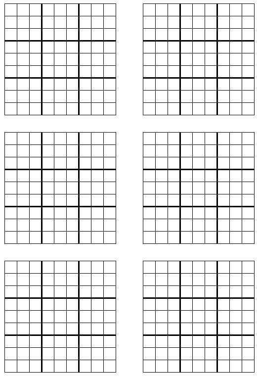 Printable Sudoku Sudoku Printable Free Printable Sudoku