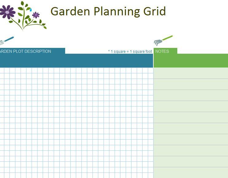 Garden Planner Garden Design Planner - garden planner template