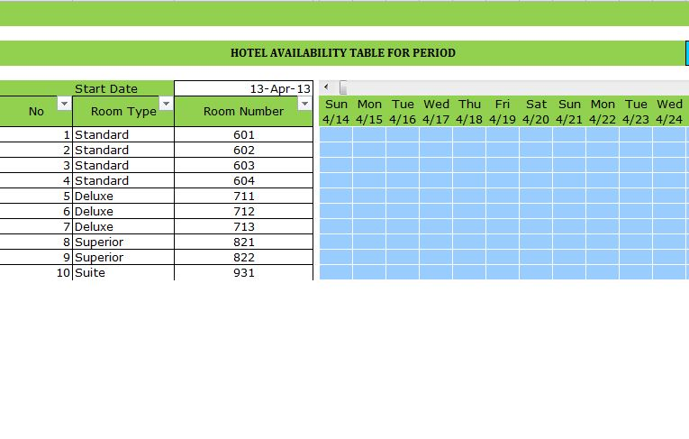Hotel Reservation Template Room Reservation Template