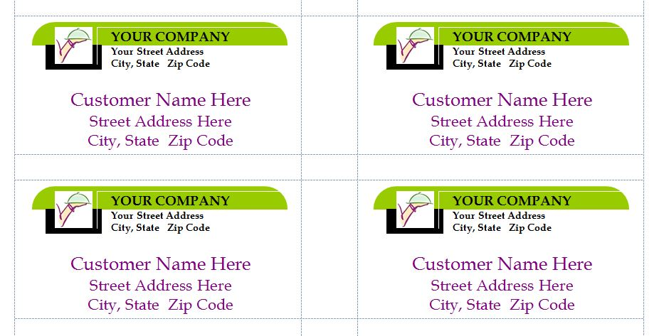 label business - Footfreedomtraining - free mailing label template