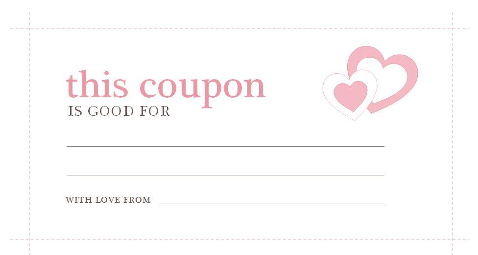 Valentines Day Coupons Valentines Day Coupons Template