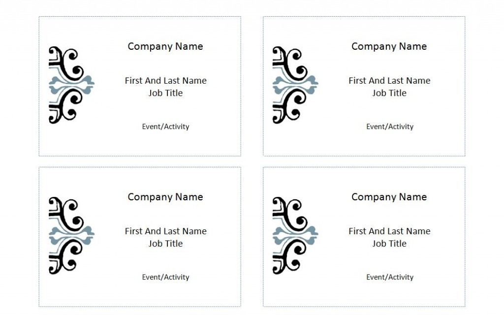 Avery Name Tag Templates | Sample Customer Service Resume