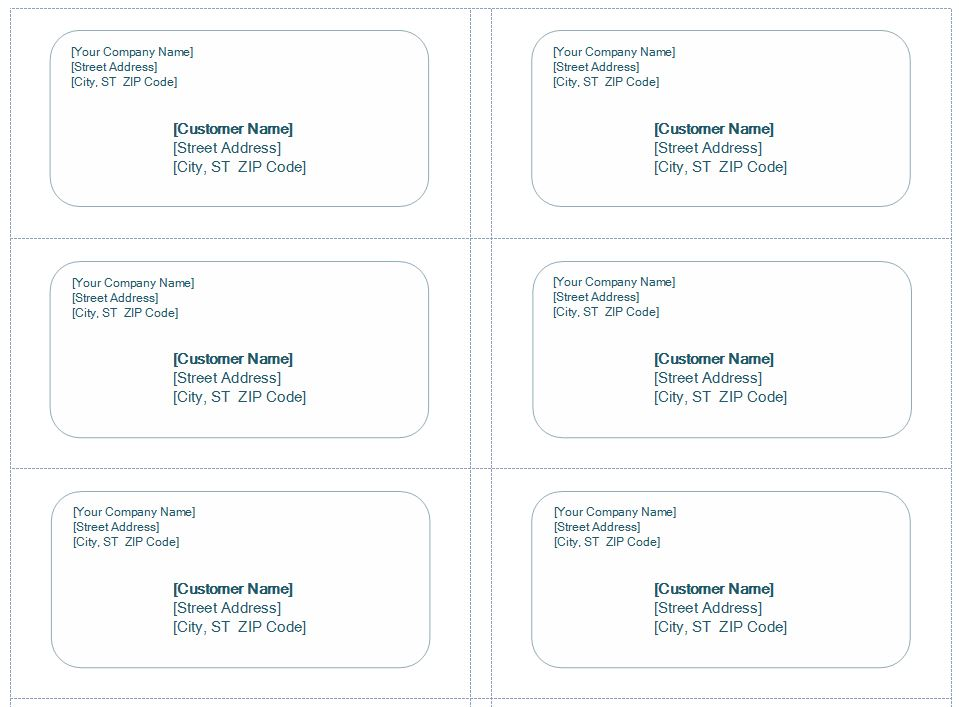 template for 5160 avery labels