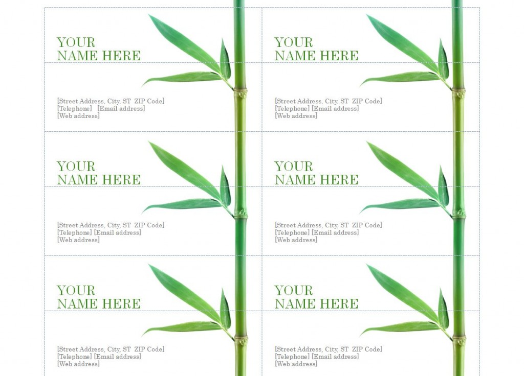 avery 5371 business card template