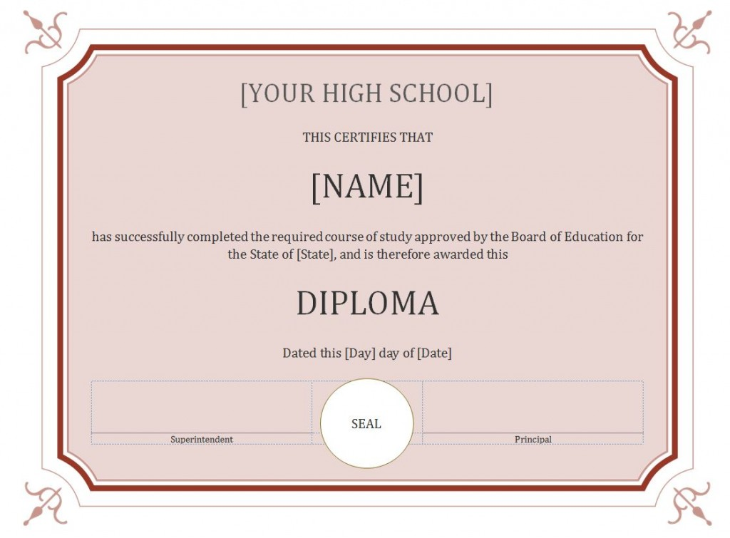 high school diploma maker