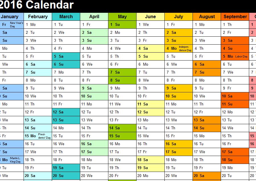 How To Create A Google Calendar Blank Google India Excel Vacation Tracking Calendar Template Calendar