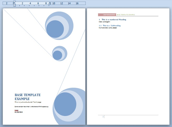 Professional Word Document Templates 2015 Exceltemple