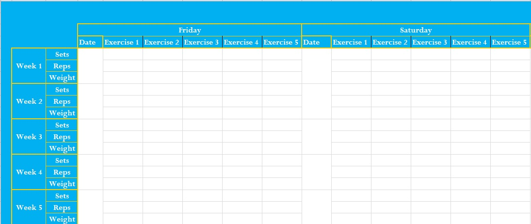 How Do I Create A Calendar With Excel Create A Calendar From Excel Data Professional Exercise Log Template Excel Excel Tmp