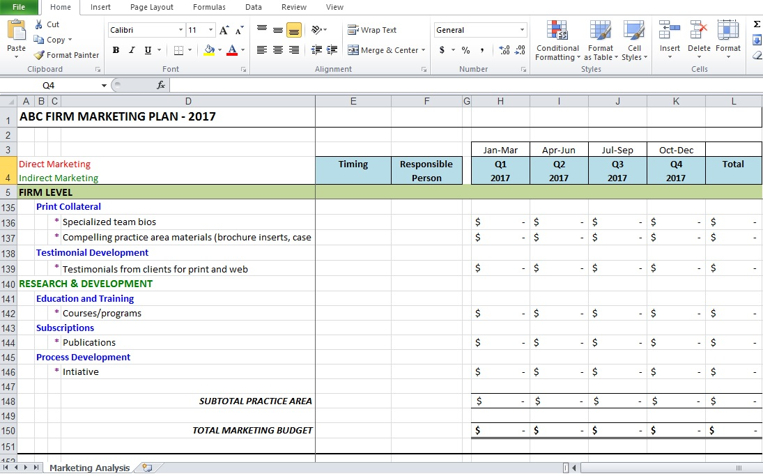 Analysis Templates Archives - Excel Tmp - data analysis template