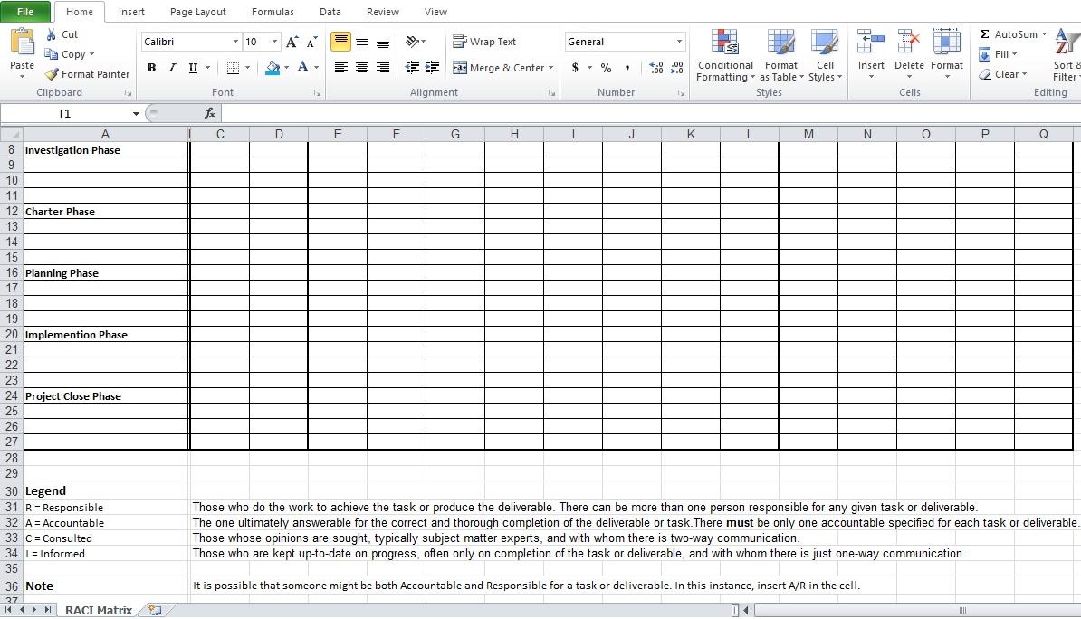 Project Roles And Responsibilities Matrix Templates Sample Rate Roles And Responsibilities  Matrix Template Excel Images Raci  Project Roles And Responsibilities Matrix Templates