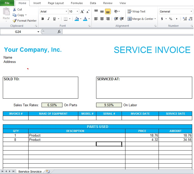 Doc#1002618 Payslip Template in Excel u2013 Payslip Template in - payslip template in excel