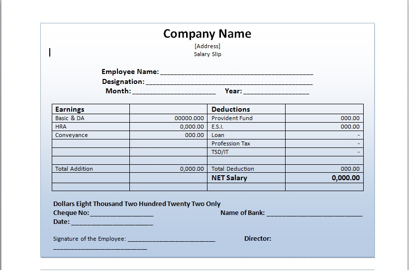 Salary Template salary verification letter income verification - payroll slip template excel