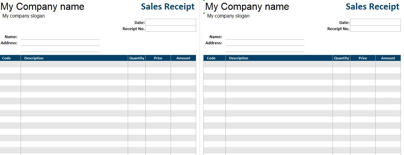 Car Sale Invoice Template (Word - Excel - PDF) - Excel Tmp