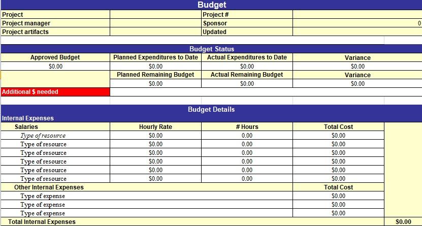 project management excel templates - Thevillas - project management excel templates