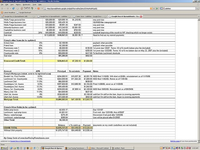 Free Blank Financial Statement Form Financial Statements Templates