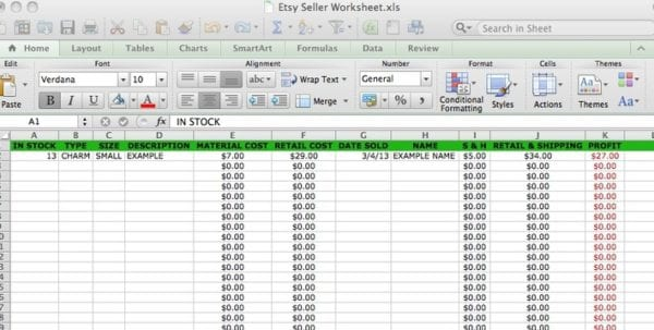 Microsoft Excel Accounting Templates Download Bookkeeping Templates