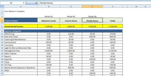 How to keep track of expenses on excel mac