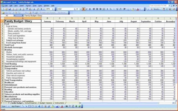 How To Create A Profit And Loss Statement In Excel Pl Spreadsheet