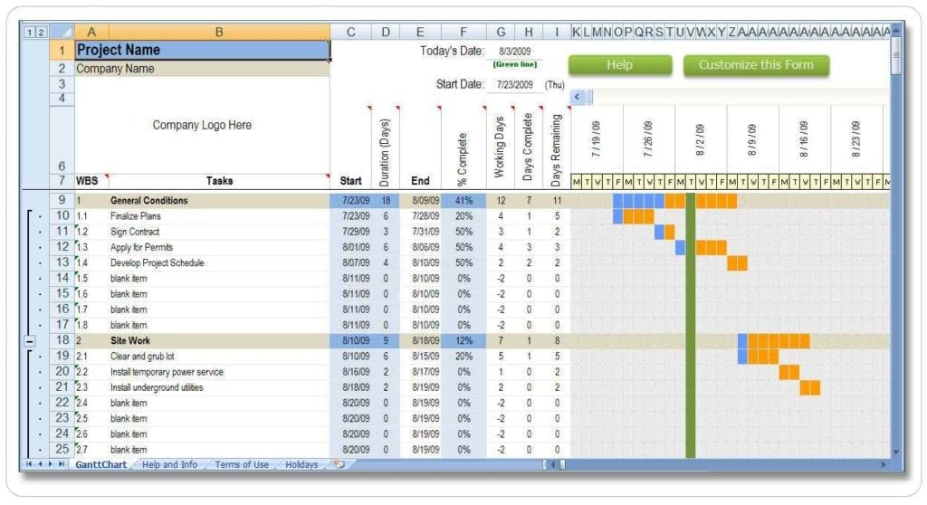 Excel Resource Management Template Excel Spreadsheet Template
