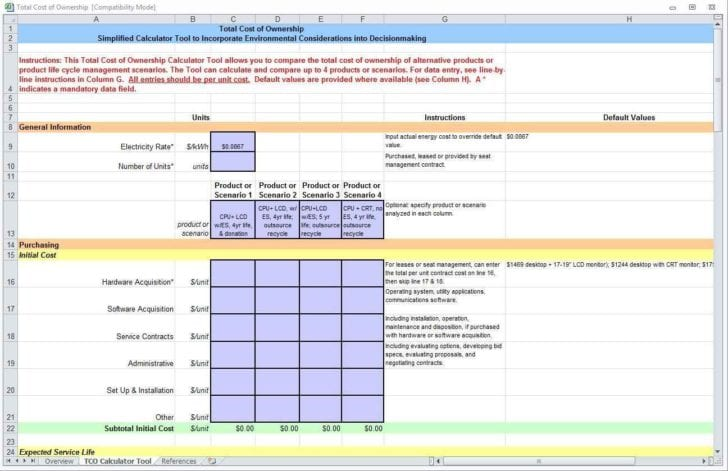 Construction Job Cost Spreadsheet Template Costing Spreadsheet