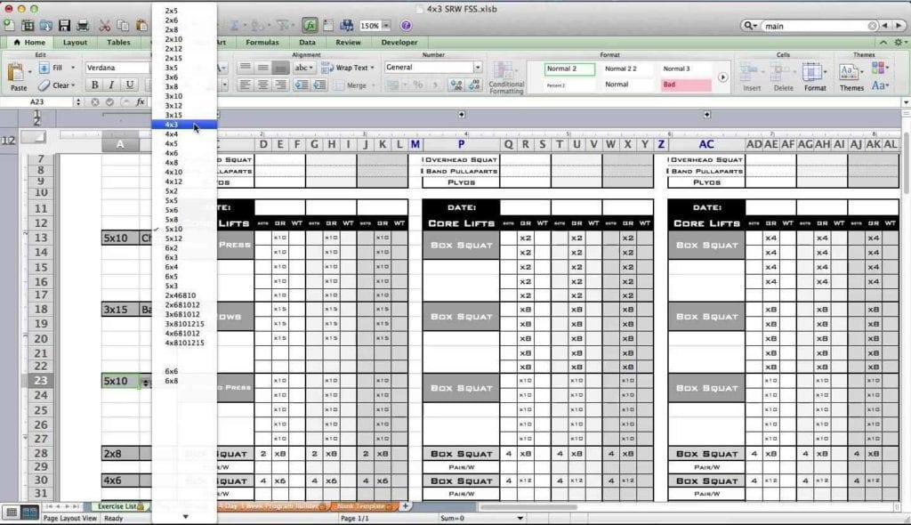 Excel Training Online Free Training Spreadsheet Template Training