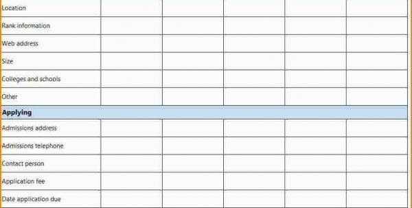 New Car Comparison Spreadsheet Comparison Spreadsheet Template - mortgage loan comparison spreadsheet