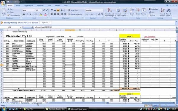 Payroll Spreadsheet Example Payroll Spreadsheet Template Payroll - common size income statement template excel