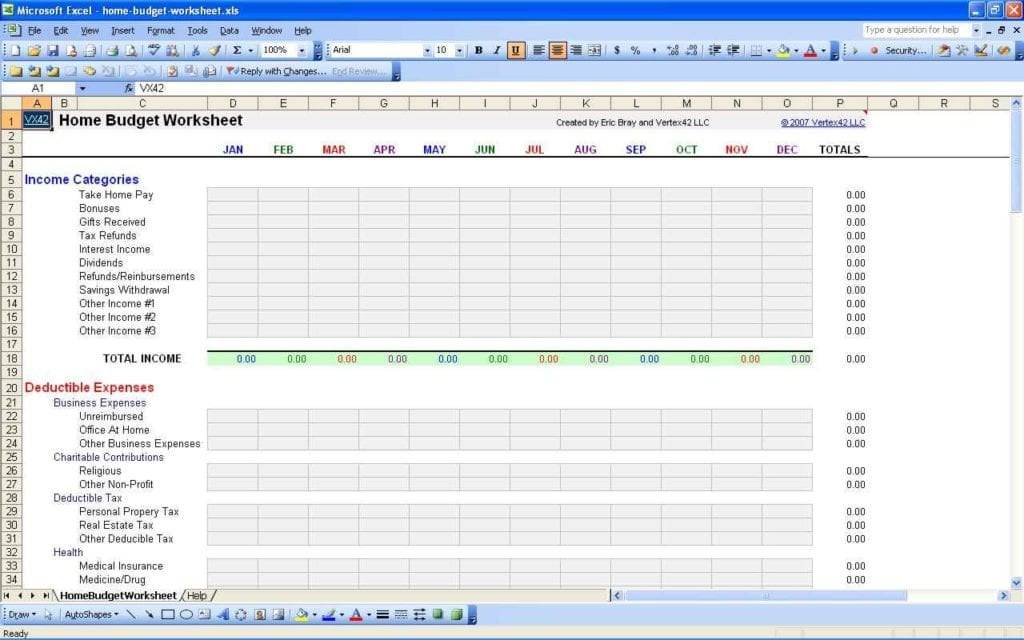 Personal Budget Spreadsheet Uk Personal Budget Spreadsheet Template - home budget calculator excel