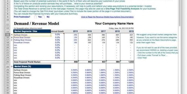 Sample Budget Forecast Spreadsheet1 Forecast Spreadsheet Template