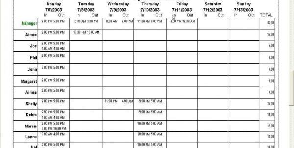 Tape Backup Schedule Spreadsheet Template Schedule Spreadsheet