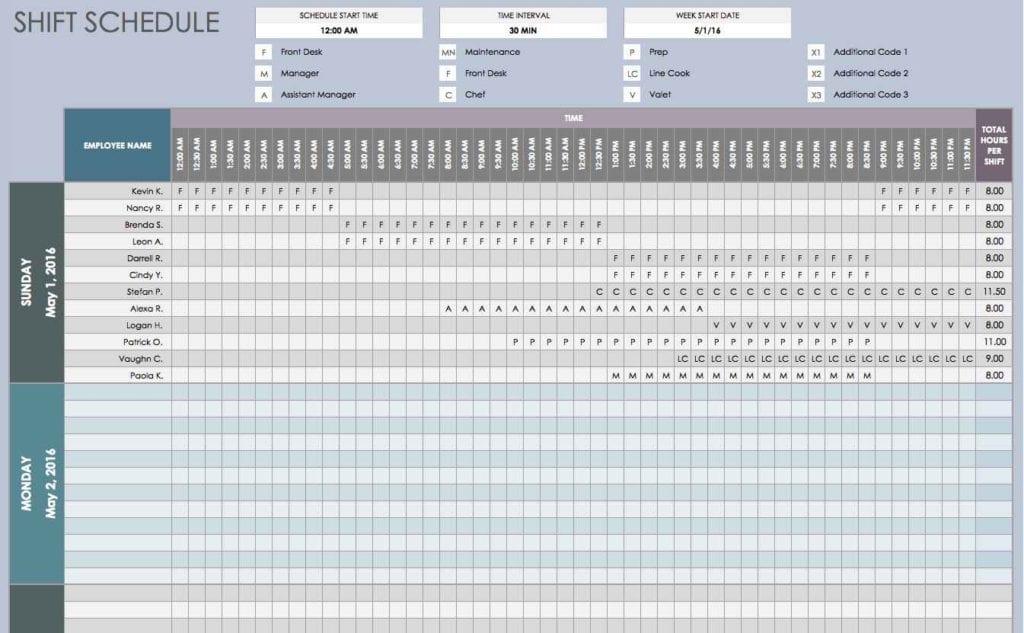 Work Plan Template Microsoft Office Schedule Spreadsheet Template