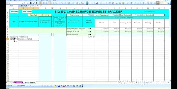 Excel Spreadsheet To Keep Track Of Payments How To Track Expenses In