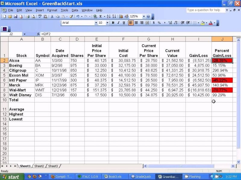 How To Maintain Store Inventory In Excel Basic Inventory Spreadsheet